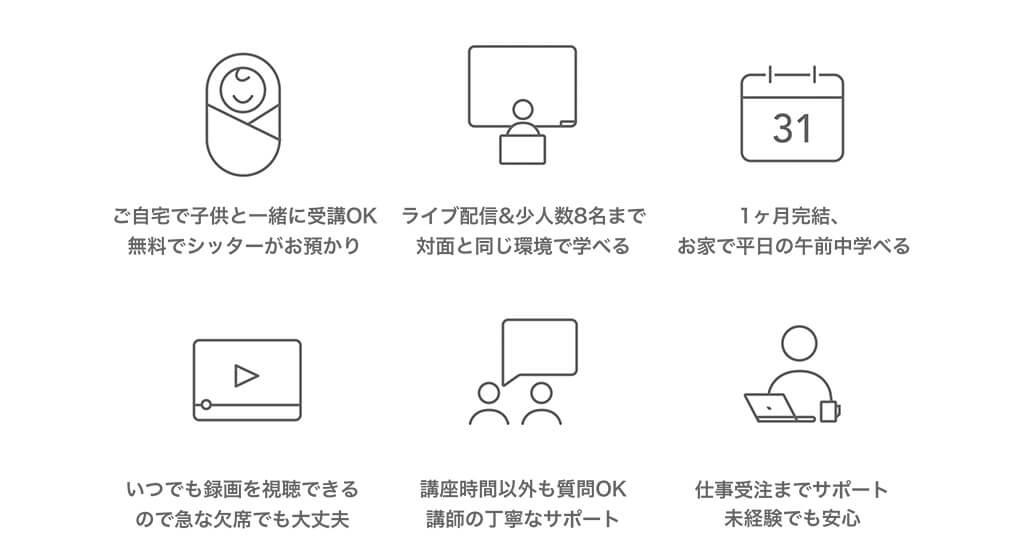 Fammママ専用Webデザイナー講座LIVE配信講座